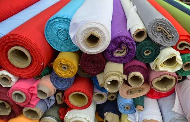 Social Media for Manufacturers - Rolls of Fabric