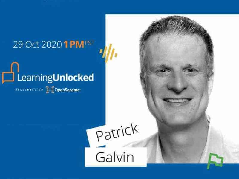 Patrick Galvin Virtual Speaker
